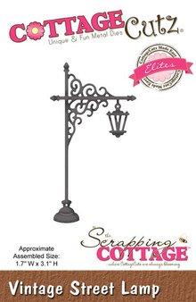 Cottage Cutz Punzonatura e goffratura modelli Vintage lampione
