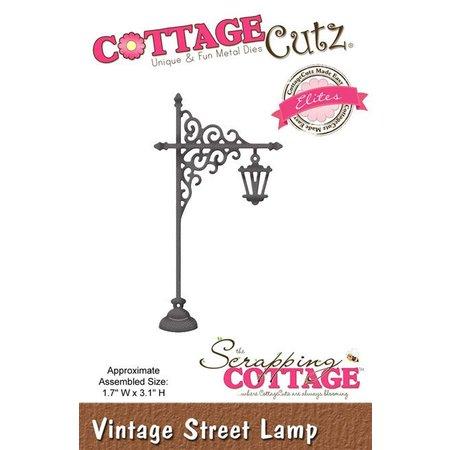 Cottage Cutz Stanz- und Prägeschablonen, Vintage Strasse Laterne