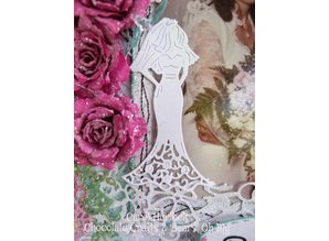 Cottage Cutz Cutting and embossing stencils, CottageCutz bride