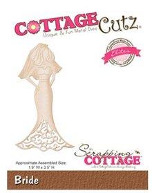 Cottage Cutz Skæring og prægning stencils, CottageCutz bruden