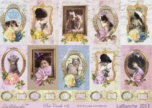 "LaBlanche LaBlanche Bogen, Kollektion ""Post Cards"""