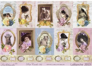 "LaBlanche LaBlanche bow collection ""Postcards"""