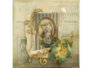 "LaBlanche Lablanche bue samling ""Postkort"""
