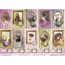 "Lablanche bue samling ""Postkort"""