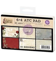Prima Marketing und Petaloo 45 carte ATC, Stationers Desk