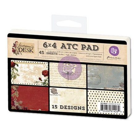 Prima Marketing und Petaloo 45 tarjetas de ATC, Papelerías Desk