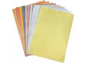 DESIGNER BLÖCKE  / DESIGNER PAPER Carta Pearl, 21x30 cm A4, madreperla, 50 pagine!