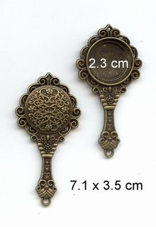 Embellishments / Verzierungen 1 mirror frame