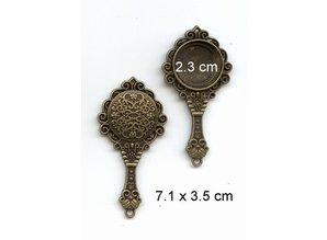 Embellishments / Verzierungen 1 marco del espejo de la vendimia