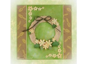 Leane Creatief - Lea'bilities Clear stamps, Leane Creative, Spring Wreath