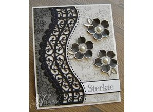 Spellbinders und Rayher Spellbinders, A set of seven cutting and embossing stencils
