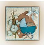 Leane Creatief - Lea'bilities Stanz - und Prägeschablone: Thema Baby