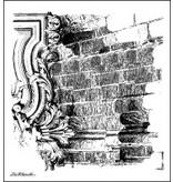 LaBlanche Lablanche Sello: Fondo de la pared de ladrillo