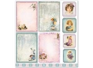 """Designer Papier Scrapbooking: 30,5 x 30,5 cm Papier Design paper """"Child / Baby 5"""" nostalgia Pur!"""