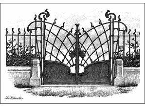 LaBlanche Lablanche Sello: La puerta de oro