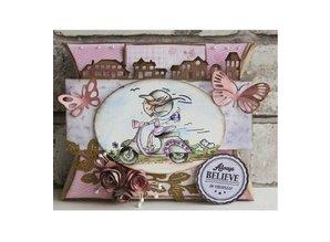 Marianne Design Corte y estampación plantillas, LR0357, Creatables, mariposas de Tiny