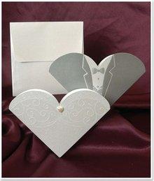 BASTELSETS / CRAFT KITS: NYHED: Eksklusiv bryllup kort Brud og brudgom