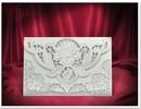 BASTELSETS / CRAFT KITS: 3 Exclusive Rosenkarten weiss + Umschläge