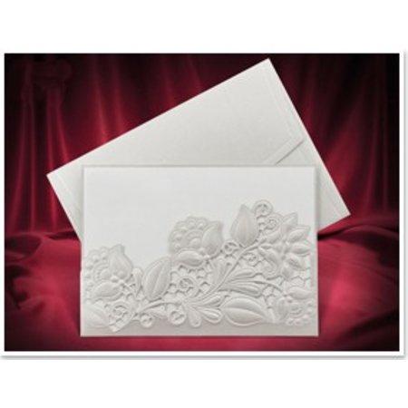 KARTEN und Zubehör / Cards flores exclusivos Einsteckkarten blanco