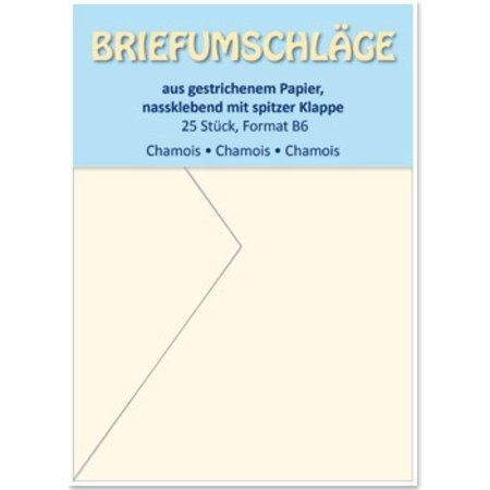 KARTEN und Zubehör / Cards Konvolutter B6, vaskeskind