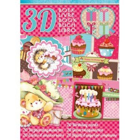 Bücher und CD / Magazines Kartenbastelbuch, Thema: Geburtstag