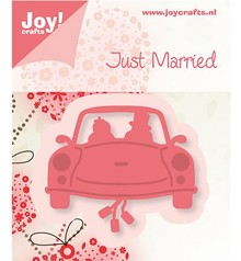 Joy!Crafts und JM Creation Joy Crafts, stamping - and embossing template, wedding car