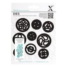 X-Cut / Docrafts Punzonatura e goffratura modello Papermania collezione cronologia