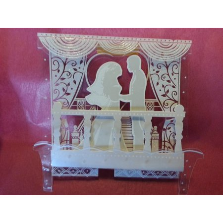 BASTELSETS / CRAFT KITS: ExclusivePop-Up Wedding Cards backdrop