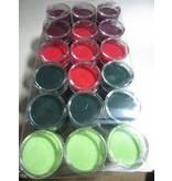 FARBE / INK / CHALKS ... Embossingspulver, 1 krukke 28 ml, udvælgelse af mange farver