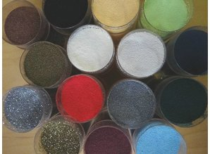 FARBE / INK / CHALKS ... Embossingspulver, 1 jar 28 ml, selection of many colors