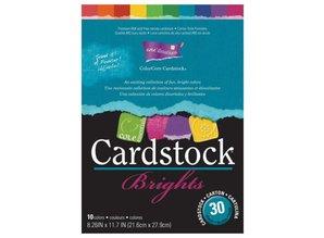 DESIGNER BLÖCKE  / DESIGNER PAPER ColorCore cardstock, A4, 30 sheets, Brights