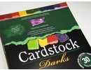 DESIGNER BLÖCKE  / DESIGNER PAPER ColorCore karton, A4, 30 ark, Darks