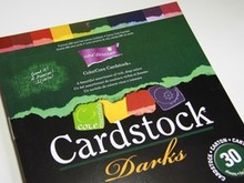 DESIGNER BLÖCKE  / DESIGNER PAPER ColorCore Cardstock, A4, 30 Bögen, Darks