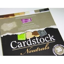 ColorCore cardstock, A4, 30 sheets, Neutrals