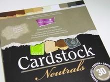 DESIGNER BLÖCKE  / DESIGNER PAPER ColorCore karton, A4, 30 ark, Neutrale