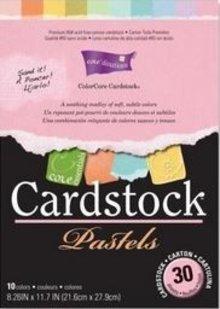 DESIGNER BLÖCKE  / DESIGNER PAPER ColorCore Cardstock, A4, 30 Bögen, Pastels