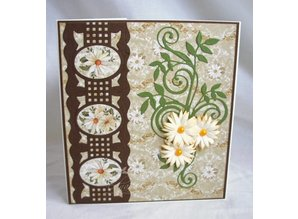 TONIC New editions: Cameo Silhouette cutting and embossing template of Tonic!
