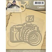 Skæring og prægning stencils Kamera