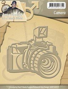 Amy Design Skæring og prægning stencils Kamera