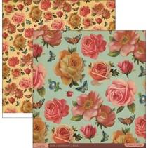 Designerpapier, Roses