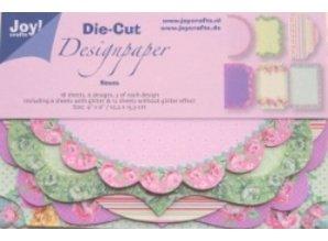 DESIGNER BLÖCKE  / DESIGNER PAPER 18 Rose Design Emner
