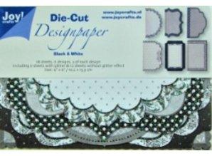 DESIGNER BLÖCKE  / DESIGNER PAPER 18 Design black