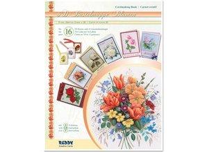 BASTELSETS / CRAFT KITS: 3D-Bastelmappe Blumen, zur Gestaltung von 16 Blumen Karten !