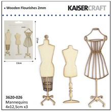 Kaisercraft und K&Company Kaiser craft wood flourish