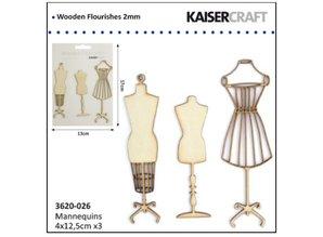 Kaisercraft und K&Company Kaiser Craftwood blomstre