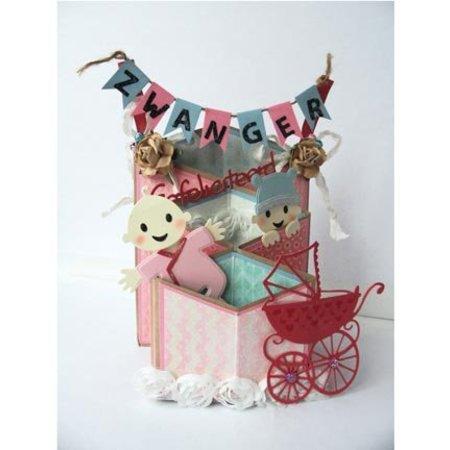 Marianne Design Marianne Design, Stanz- und Prägeschablone, Collectables - Eline's Baby