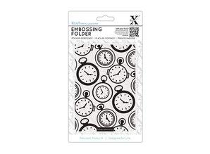 X-Cut / Docrafts Prægning mapper, ure