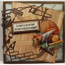 Stansning og prægning skabeloner, værktøj ramme