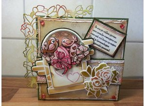 Precious Marieke Stamping and Embossing stencil, Marieke Precious, Romance, climbing rose