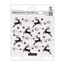X-Cut / Docrafts Embossing folders, reindeer